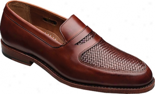 Allen-edmonds Carlsbqd (men's) - Chili Burnished Calf/chili Interlace