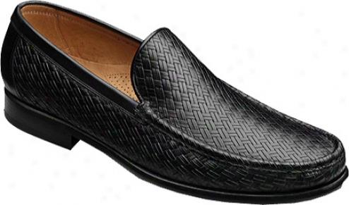 Allen-edmonds Positano (men's) - Black Embossed Leather