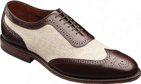 Allen-edmonds Strawfut (men's) - Brown Calf/linen