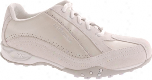 Allrounder By Mephisto Melody (women's) - Off White Suede/perl