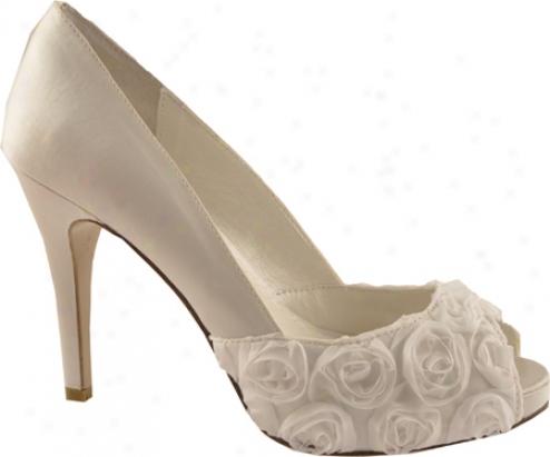 Allure Bridals Coco (women's) - Diamond White Silk Satin
