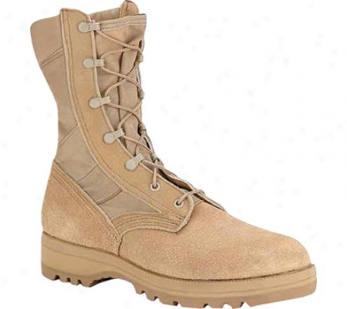 Altama Footwear 3 Lc Tan Deserr Military Specifi (men's) - Cordura/tan Suede