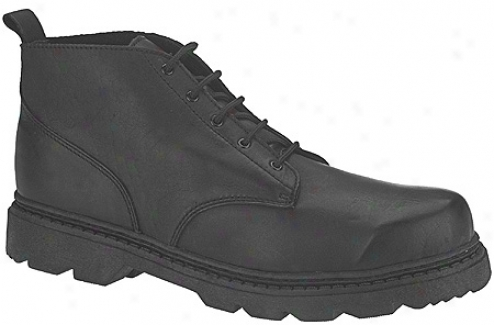 Altama Footwear Basic Work Boot (mens') - Black Leather