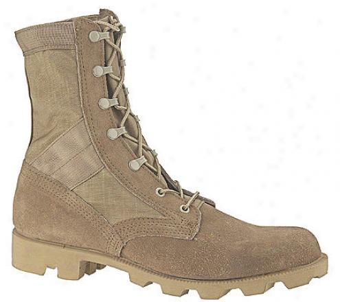 Altama Footwear Desert Boot 5853 (men's) - Tan Suede Leather/crdura Nylon