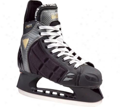American 448 Ice Force 868 Hockey Skate (men's) - Black