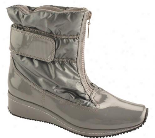 Antia Shoes Nikita (women's) - Dark Grey Patent/nylon