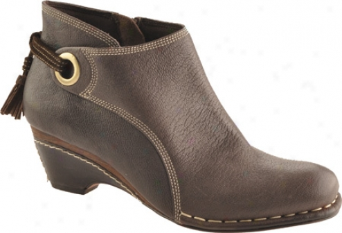 Antia Shoes Remi (women's) - Mocha Vintage Full Grain/cow Suede