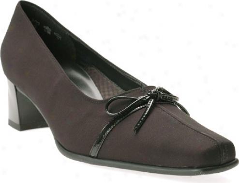 Ara Gent 41272 (women's) - Black Fabric/patent Leather