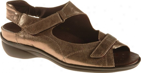 Ara Maya 35472 (women's) - Pewter Metallic Leather