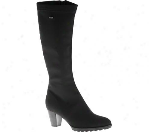 Ara Tegan 43421 (women's) - Black Stretch Fabric