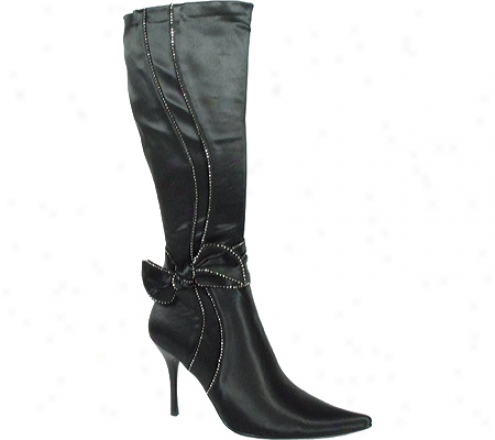 Ardiente Sen Sational (women's) - Black Satin