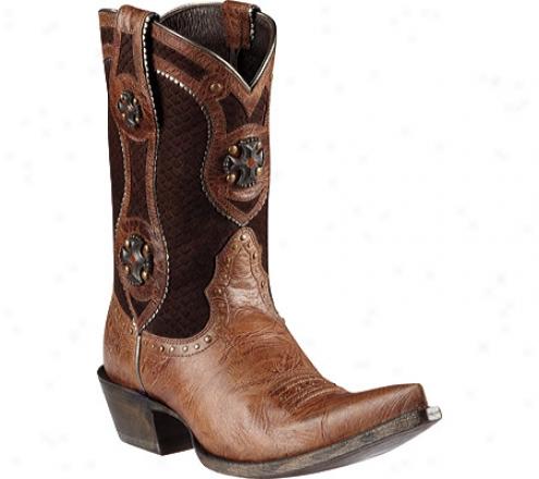 Ariat Desperado (women's) - Dry Inlet Brown/scale Brown Full Grain Leather