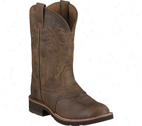 Ariat Heritage Crepe (infants') - Distressed Brown/chocolate Full Grain Leather
