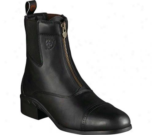 Ariat Heritage Iii Zip Paddock (men's) - Black Upgraded Full Grain Leather