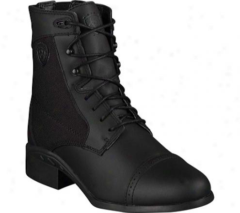 Ariat Inheritance Sport Paddock (women's) - Black Waterproof Full Grain Leather