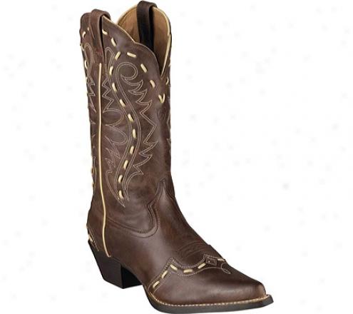 Ariat Inheritance Western Bucklace (women's) - Brown Rebel Full Grain Leather