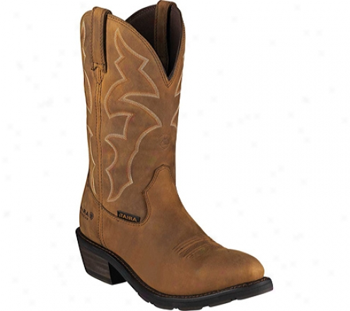 Ariat Ironside H2o (mne's) - Dusted Brown Waterproof Full Grain Leather