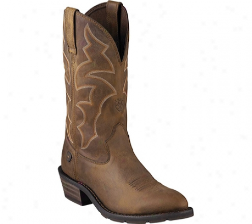 Ariat Ironside (men's) - Dusted Brown Full Grain Leather