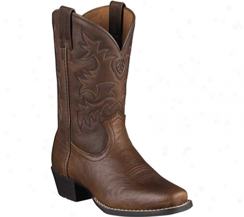 Ariat Legend (infants') - Brown Oiled Rowdy Full Grain Leqther