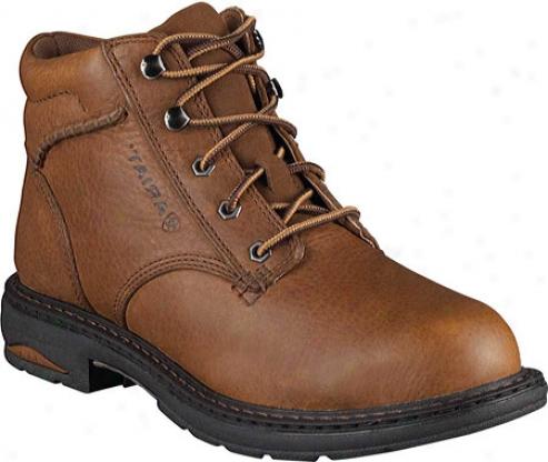 Ariat Macey Composite Toe (women's) - Dark Peanut Full Grain Leather