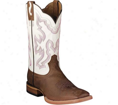 Ariat Nitro (men's) - Weathered Brown/blanco Full Grain Leather
