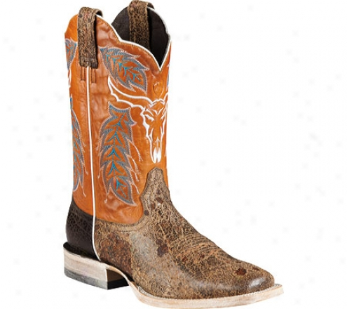 Ariat Outlaw (men's) - Punchy Tan/wildfire Orange Full Grain Leather