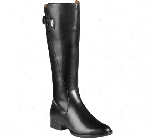 Ariat Plymouth (women's )- Deep Black Full Grain Leather