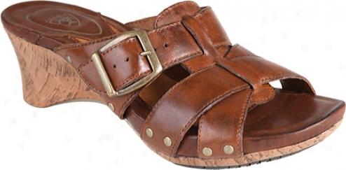 Ariat Portofino (women's) - Burnished Brown Full Grain Leather