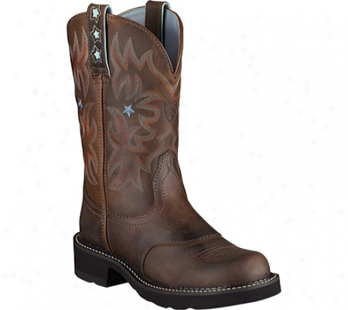 Ariat Probaby (women's) - Driftwood Brown Full Grain Leather