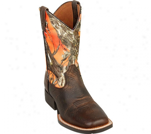 Ariat Quickdraw (infants') - Earth/true Timber Full Grain Leather