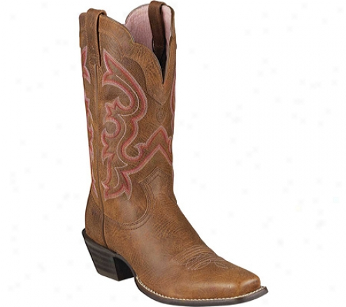 Ariat Ransom (women's) - Rustic Brown Full Grain Leather