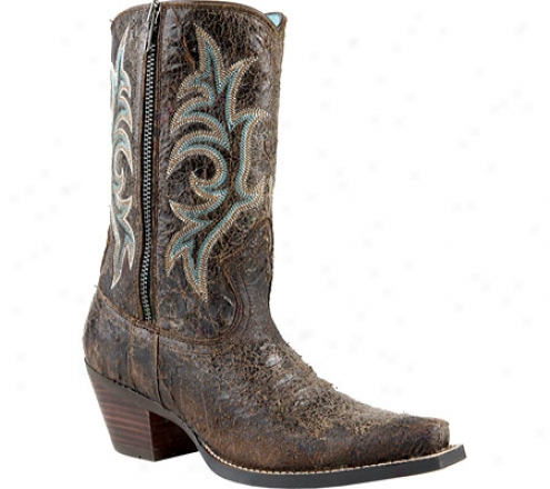 Ariat Rustler (women's) - Punchy Brown Full Grain Leathr
