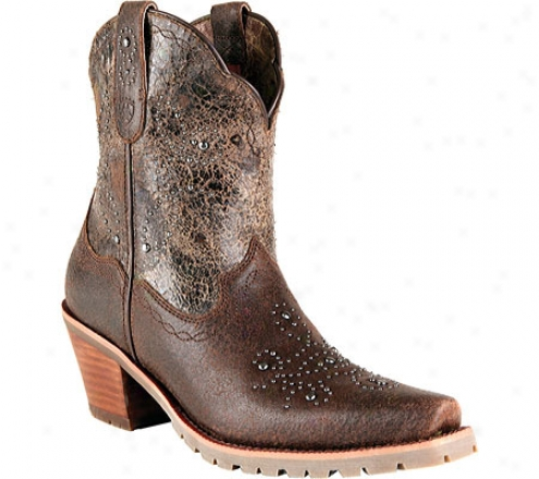 Ariat Shali (women's) - Roughed Chocolate/punchy Brown