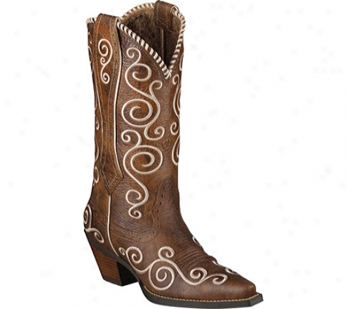 Ariat Shelleen (women's) - Tawny Brown Full Grain Leather