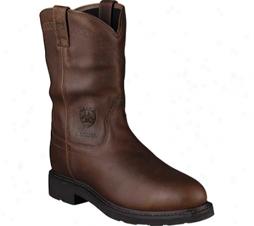 Ariat Sierra H2o Steel Toe (men's) - Sunshine Waterproof Quite Grain Leather