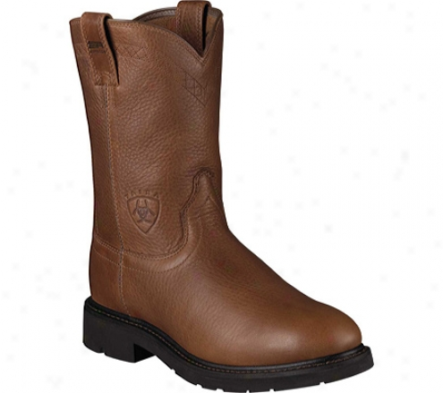 Ariat Sierra (men's) - Sunshine Wildcat Full Grain Leatejr