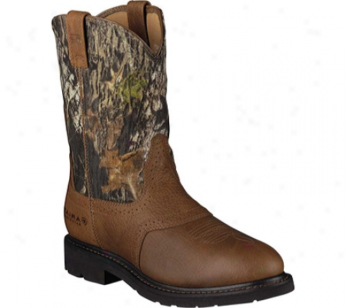 Ariat Sierr aSaddle H2o (men's) - Golden Grizzly/mossy Oak Waterproof Leather