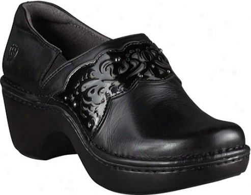 Ariat Tambour (women's) - Blacm/black Patent Full Grain Leather