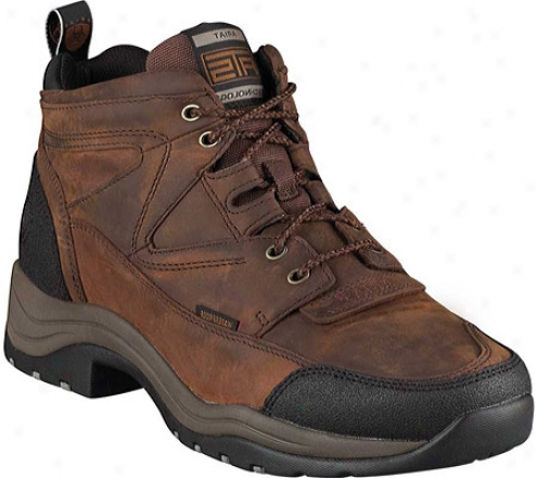 Ariat Terrain H2o (men's) - Copper Waterproof Full Grain Leather