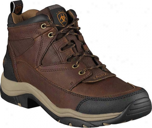 Ariat Terrain (men's) - Brown Oiled Rowdy Full Grain Leather/cordura