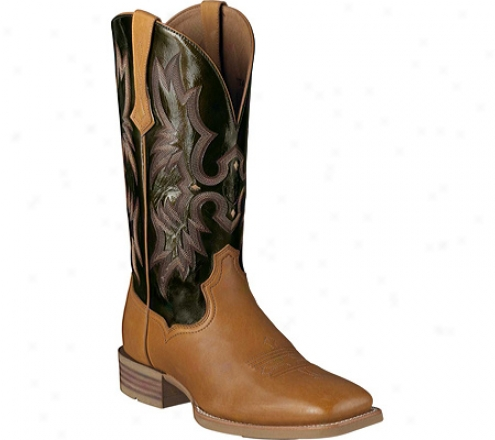 Ariat Tombstpne (men's) - Pine Full Grain Leather/olive Patent