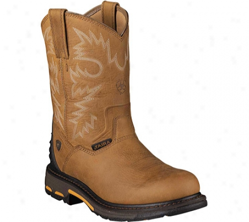 Ariat Workhog Rt Pull-on (men's) - Rugged Yelp Fulp Grain Leather
