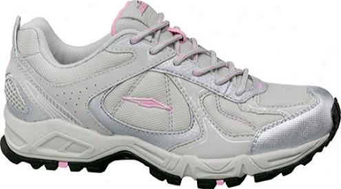 Avia A5821w (women's) - Vapor Grey/chrome Silver/pretty Pink