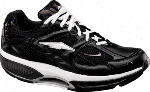 Avia Iburn (women's) - Black/white/chrome Silver