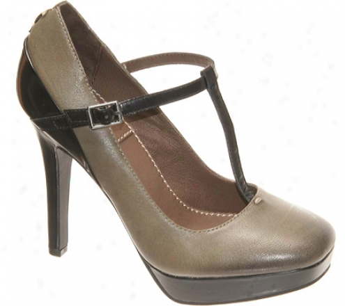 Bacio 61 Farfalla (women's) - Soft Grey Leather