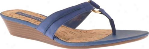 Bandolino Fayette (women's) - Concealment Blue/gold Nubuck