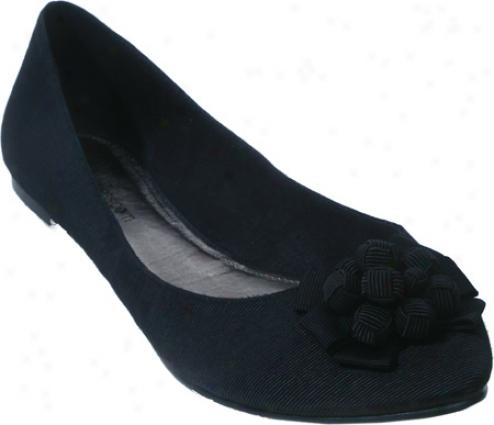 Barefoot Tess Emma (women's) - Black Textile