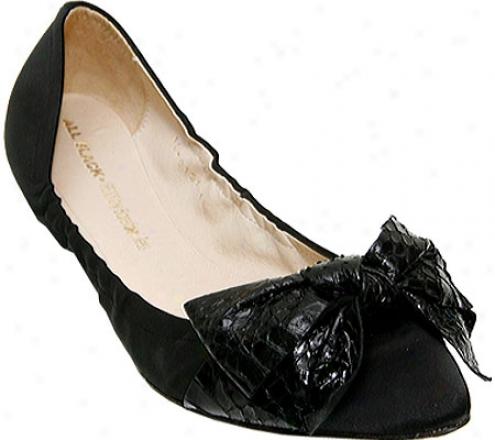 Barefoot Tess Victoria (women's) - Negro Satin