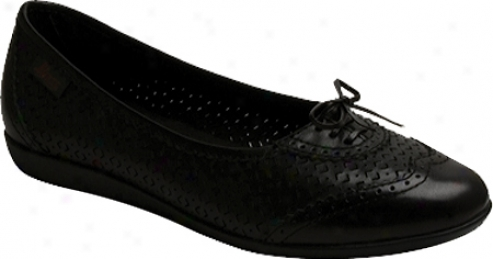 Bass Caley (women's) - Black Atanado Leather