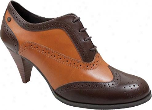 Bass Glenda (women's) - Cocoa/cognac Atanado Leather